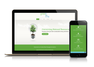 green life industry website designer richmond hill