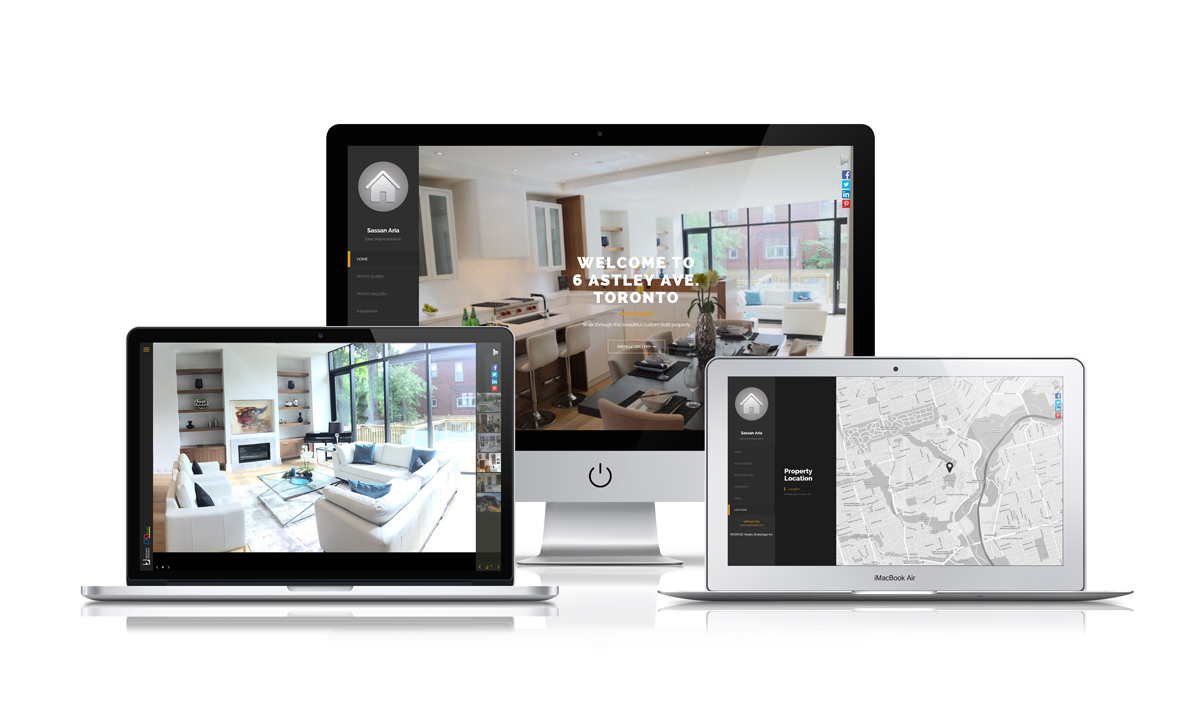 Real Estate Virtual Tour Website Apostrophe Solutions