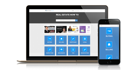 real estate how to - online informational portal