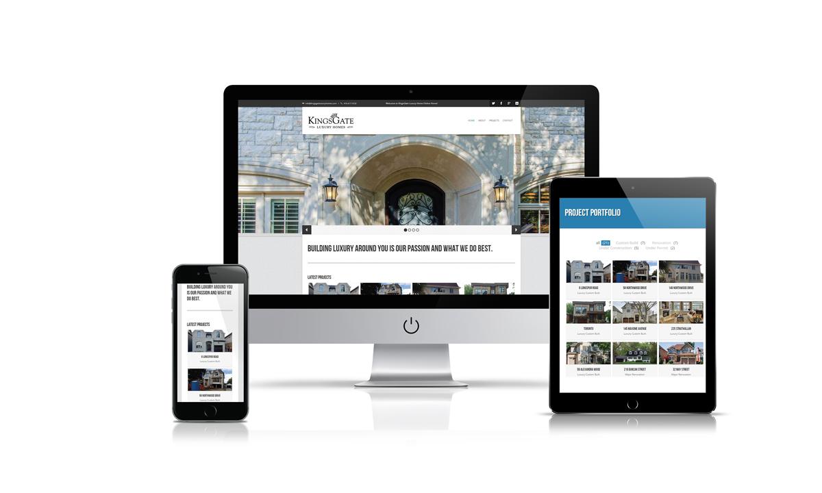 Luxury property custom builder website north york