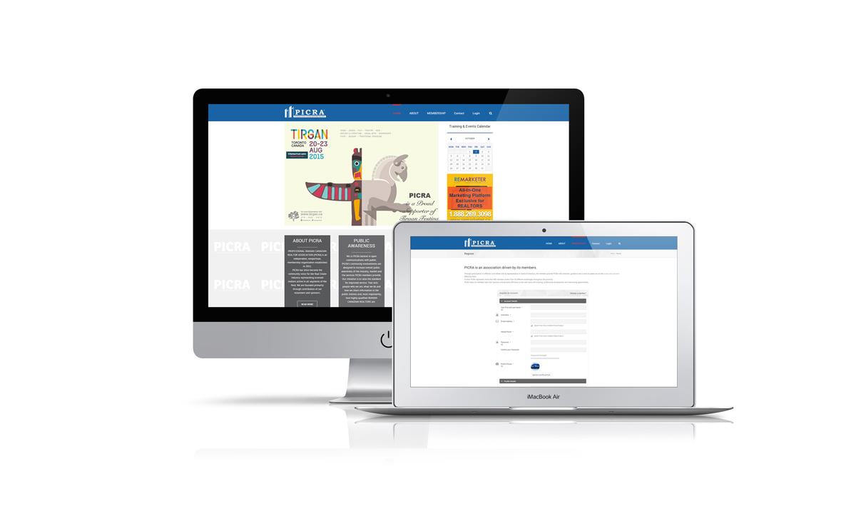 professional association website