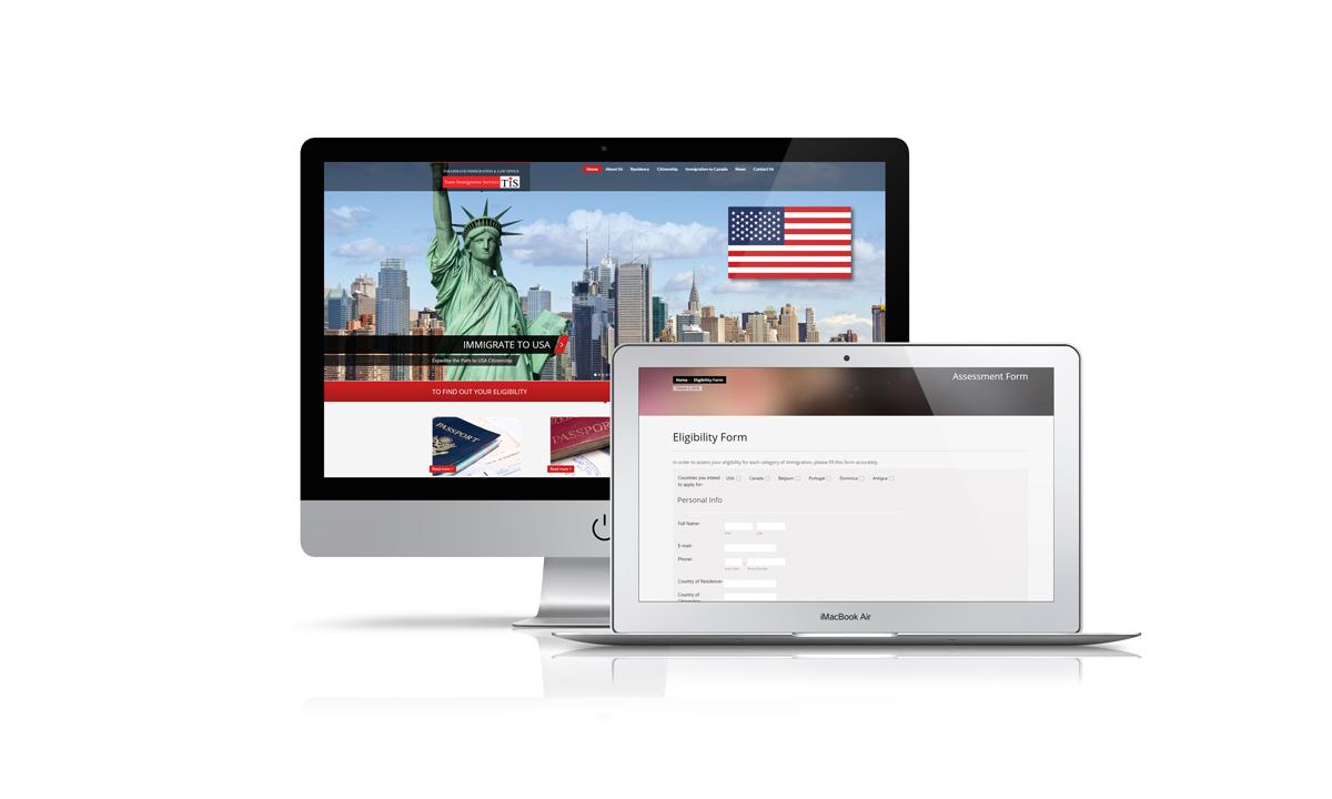 Team immigration website development canada