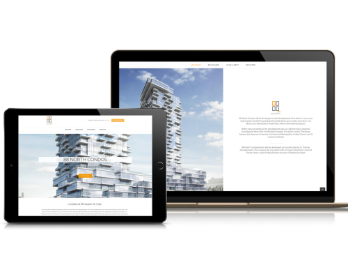 New Condo Development Landing Page