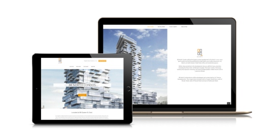 New Condo Development Website