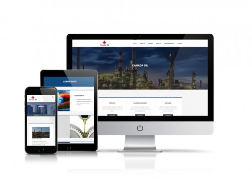 Canada Oil Website Development