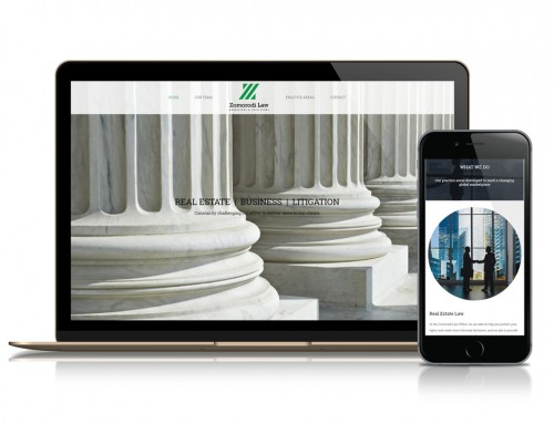 Zomorodi Law Firm Website Design