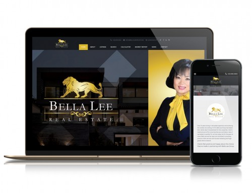 Bella Lee Group Real Estate Website and Marketing Platform