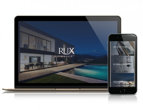 Rux Group Luxury Homes Website Design