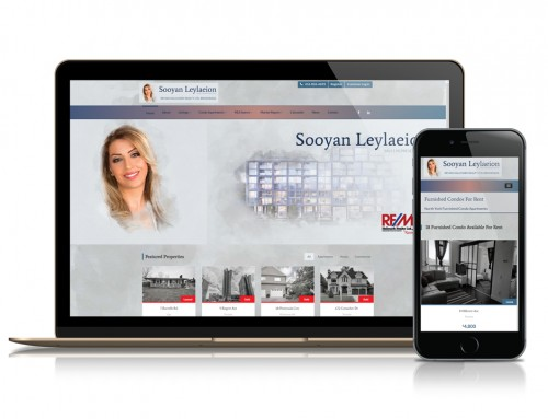 Sooyan Leylaeion Real Estate Website and Marketing Platform