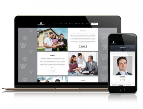 Welbanks Mortgage Group Website Design and Development